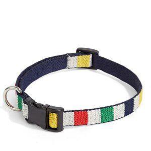 HBC Stripes Multistripe Dog Collar Medium nwt